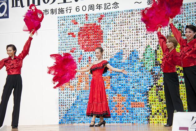 韮崎市制施行60周年記念及び宝塚歌劇団創立100周年記念レビューショー