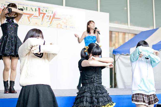 Q'ulle(キュール)のゆずきさんと、山梨県庁で「メグメグ☆ファイアーエンドレスナイト」を踊ってみた!歌ってみた!